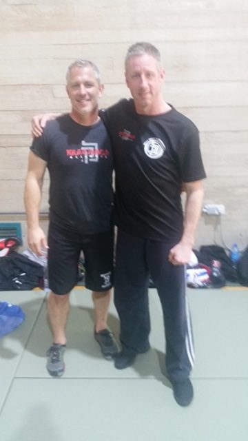 Instructor Dean with John Whitman
